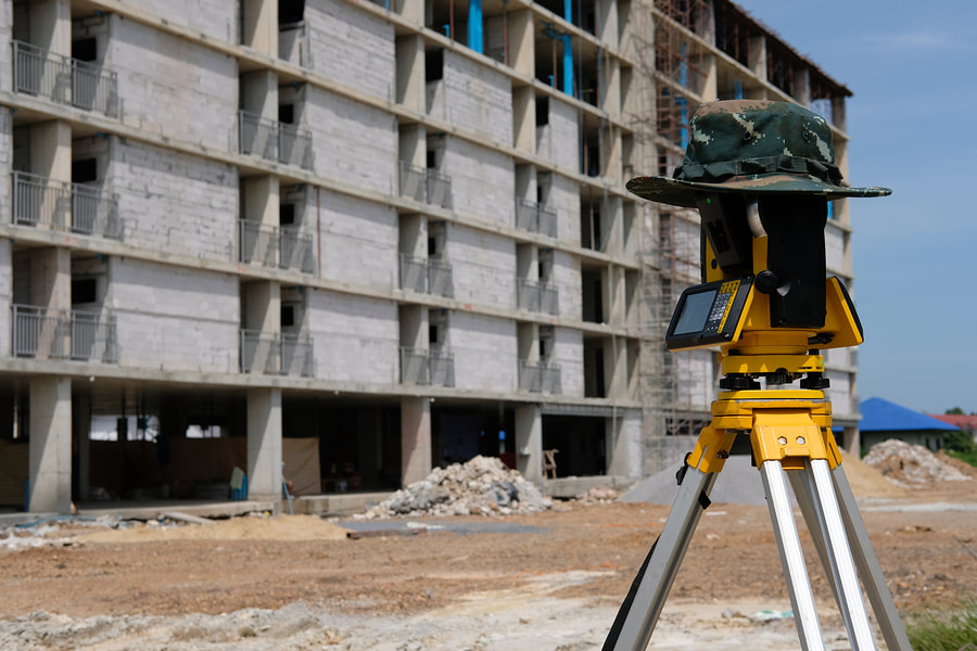 condominium mapping and a technology to take surveys and inspect